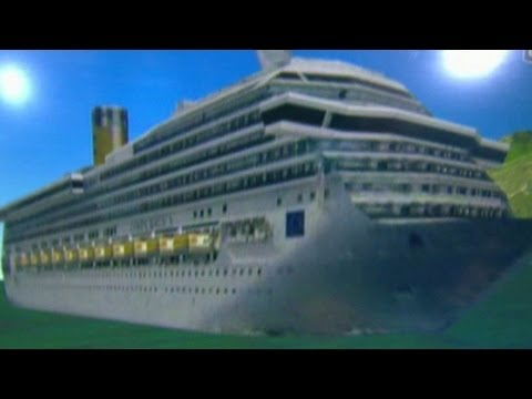 How the cruise ship, Costa Concordia went down