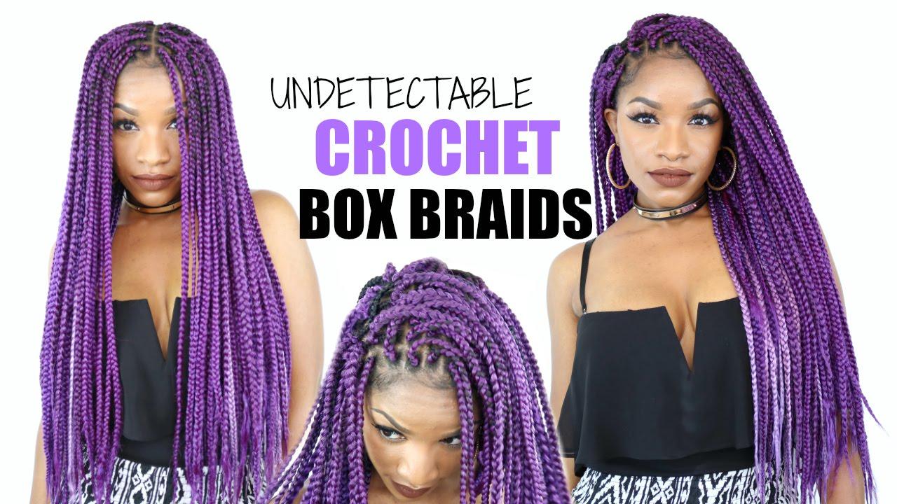 Crochet BOX Braids Tutorial | Cheat Method - YouTube