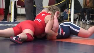 2017 York Open WW72kg Brooke Jarrett (Impact) vs Shauna Kuebeck (Brock)
