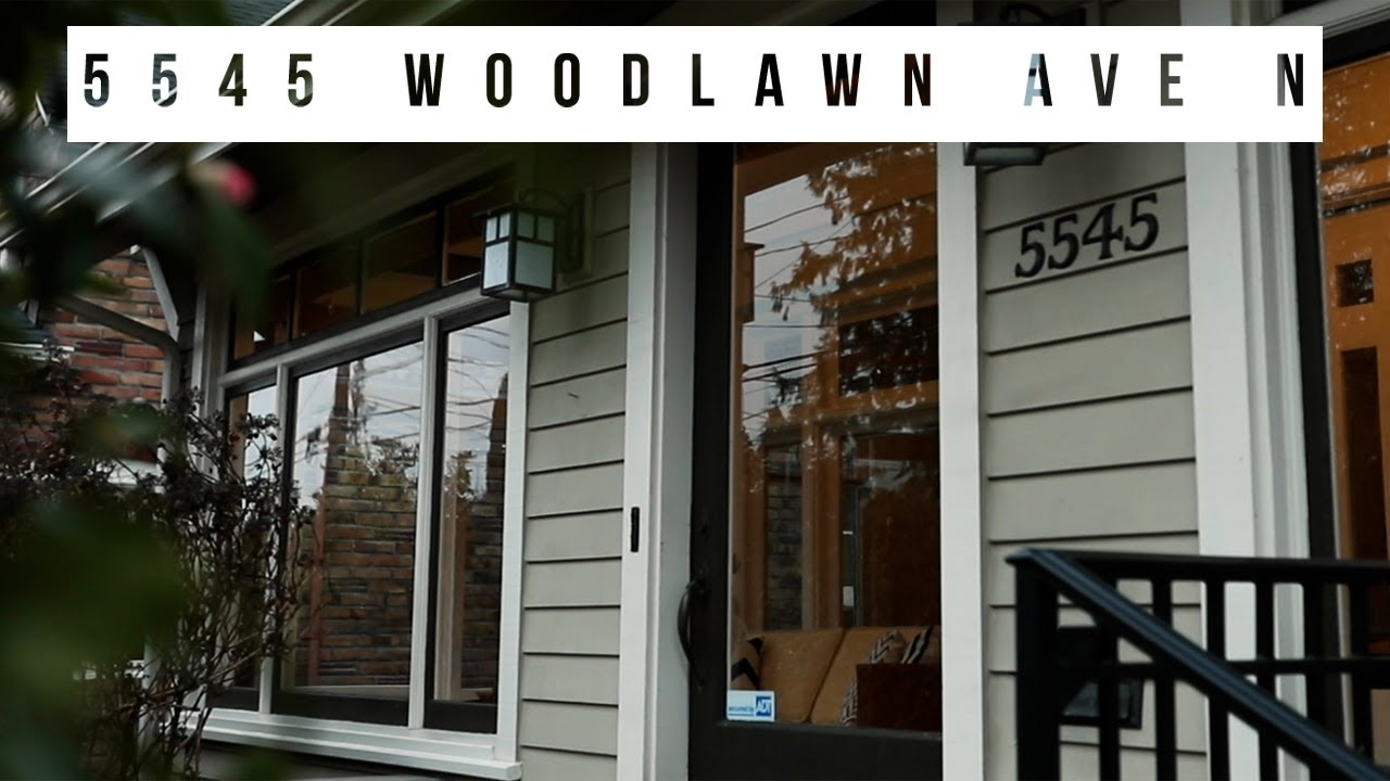 5545 Woodlawn Ave N l Real Estate Video l Seattle, WA