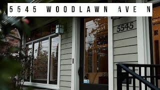 5545 Woodlawn Ave N l Real Estate Video l Seattle, WA