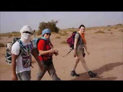 Sahara Desert Charity Trek diary (mobile friendly version)