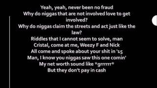 Nicki Minaj Drake & Lil Wayne - No Frauds Lyrics