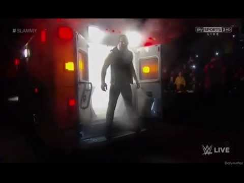 Dean Ambrose Ambulance entrance (HD)