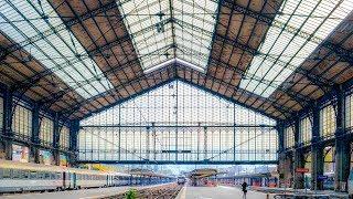A Walk Around Gare d'Austerlitz (Train Station), Paris
