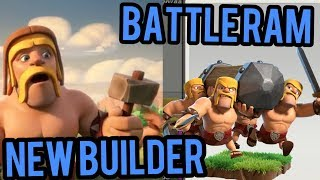 Clash Of Clans- Bring On The Battle Ram, Bye Bye Builder | New Troop & New Builder 5th Clashiversary