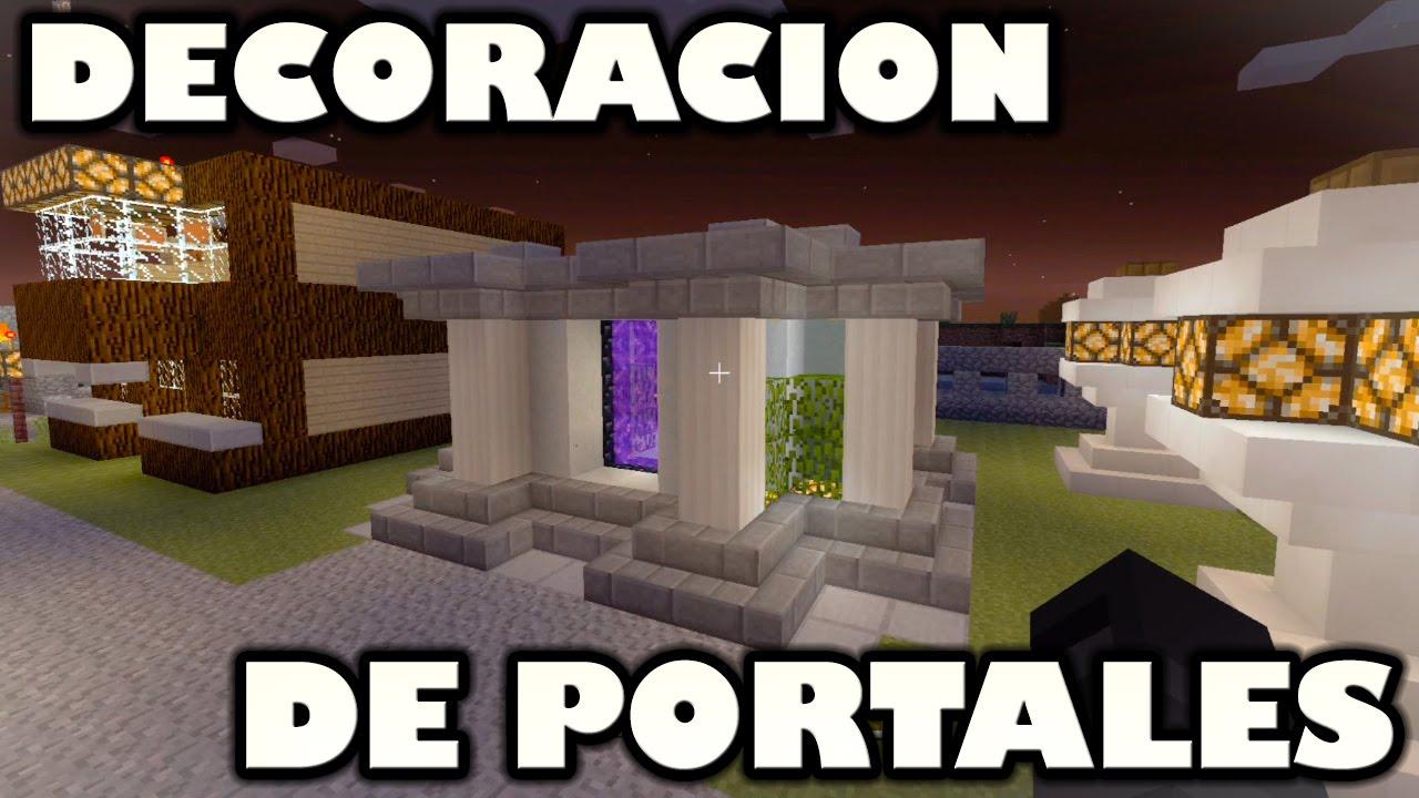 Decoracion de portales minecraft xbox 360 one ps3 ps4 for Portales de chimentos del espectaculo