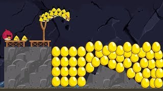 Angry Birds - COMPLETE PASSING LEVEL ALL GOLDEN EGG! GOLD STAR REACHED!!