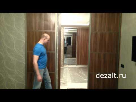 Перегородили комнату дверьми купе