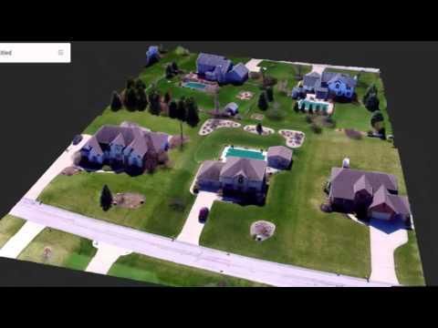Drone Photogrammetry with Phantom 3 - Altizure