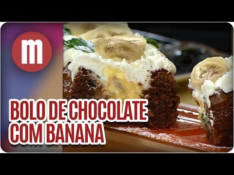 Mulheres - Bolo de Chocolate com Banana (27/04/16)