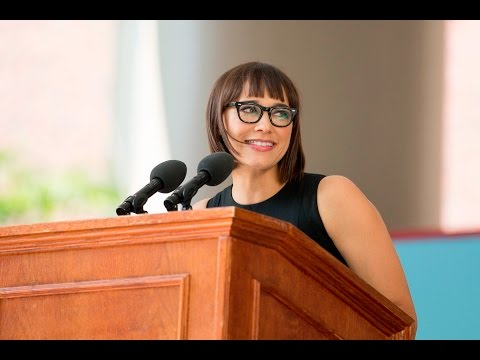 Rashida Jones: Class Day Speech  Harvard Commencement 2016