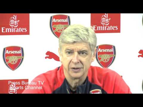 Arsene Wenger Pre Arsenal Vs Manchester City