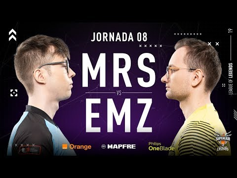 MOVISTAR RIDERS VS EMONKEYZ CLUB | Superliga Orange League of Legends | Jornada 08 | Temporada 2019