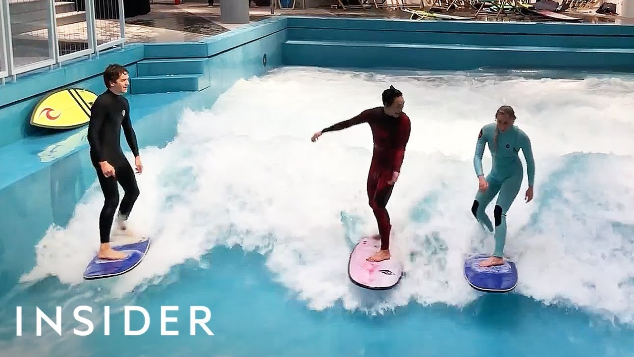 Learn How To Surf Indoors At A German Mall