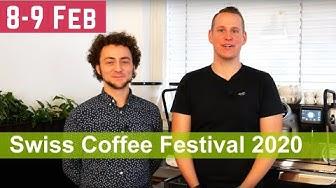 Swiss Coffee Festival 2020 in Zürich schon bald! 8. - 9. Februar