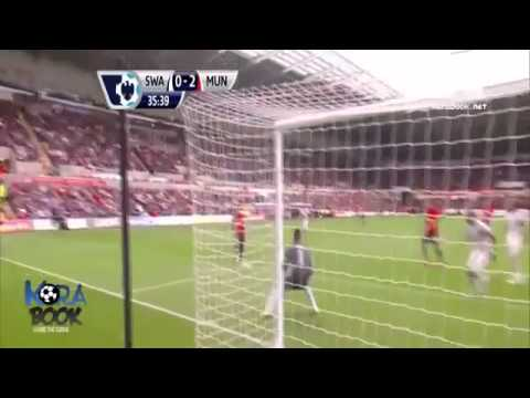 Swansea 1 - 4 Manchester United 17/08/13 Highlights