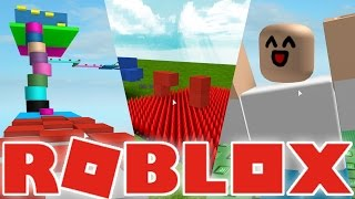 ROBLOX SHOWCASE: Crazy Lava Jumps, Killer Spikes, Obbies