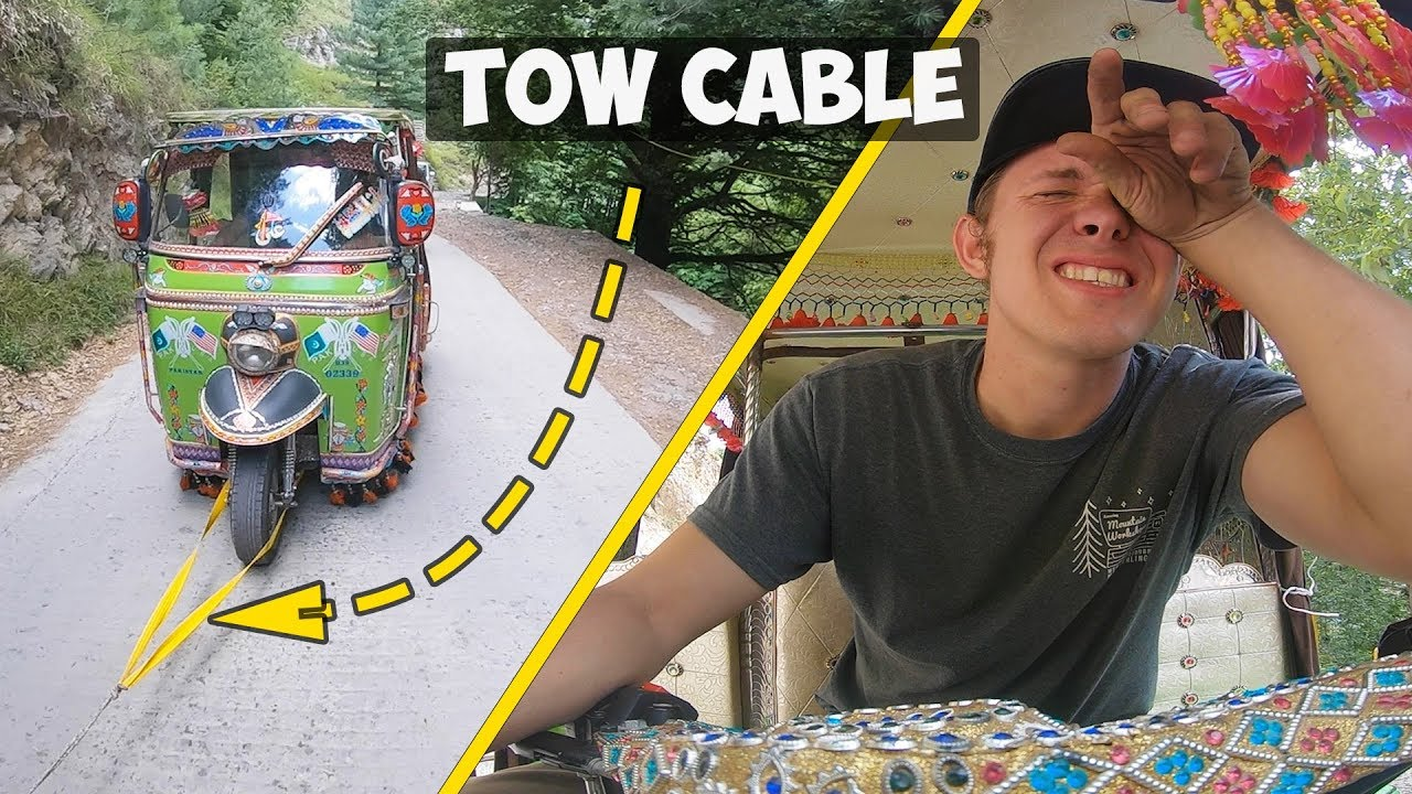 Don't drive a Rickshaw in the North Part 1 of 4 American Rickshaw Wala Episode 17 - Aug 22, 201