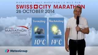 Wettervorhersage Luzern Marathon 2014