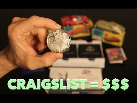 Quadrupled My Money Buying Coins on Craigslist