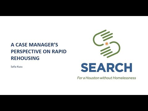 A case manager's perspective on Rapid Rehousing