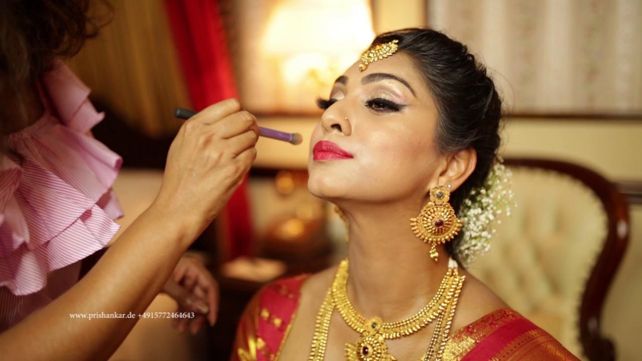 Indian Bridal Tamil South Asian Tamil Hindu Bridal Makeover Tutorial By Prishankar