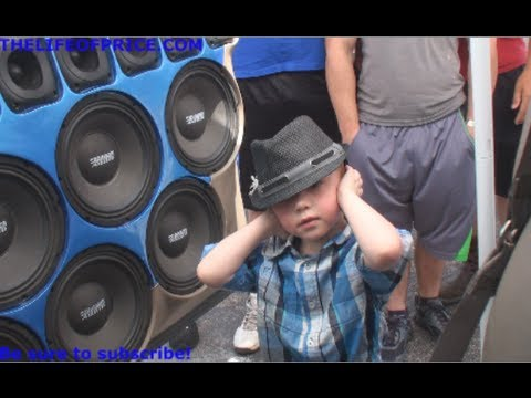 COOL KID CONTROLS MY SYSTEM FOR ME @ SHOWFEST 2013 VID 17