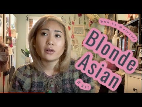 How to Maintain BLONDE Asian Hair – Ft. BEST Purple Shampoo Ever!