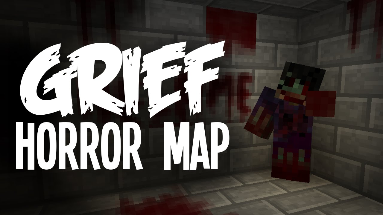 FIVE STAGES GRIEF Minecraft Horror Map YouTube - Horror maps fur minecraft