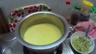 Тыквенный суп пюре.