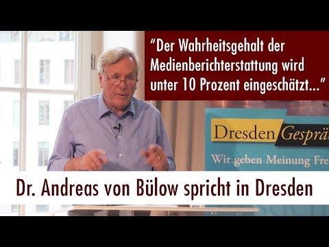 Lügen, Propaganda, Manipulation der Massen - Dr. Andreas von Bülow spricht in Dresden (13. Juni 2017