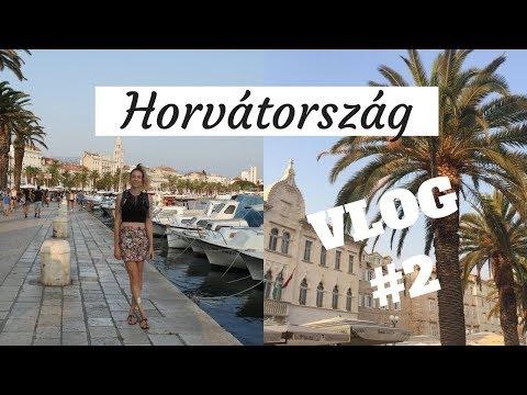 Horvátország VLOG#2 - Split /Trogir/ Krka /Brela