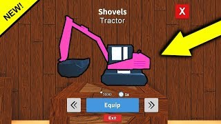 TRACTOR UPDATE in TREASURE HUNT SIMULATOR! AGGIORNAMENTO SECRET (Roblox)