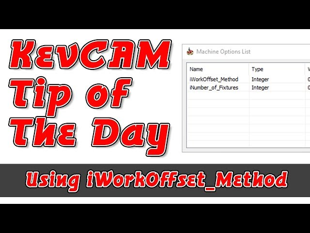 Tip of the Day - iWorkOffset_Method