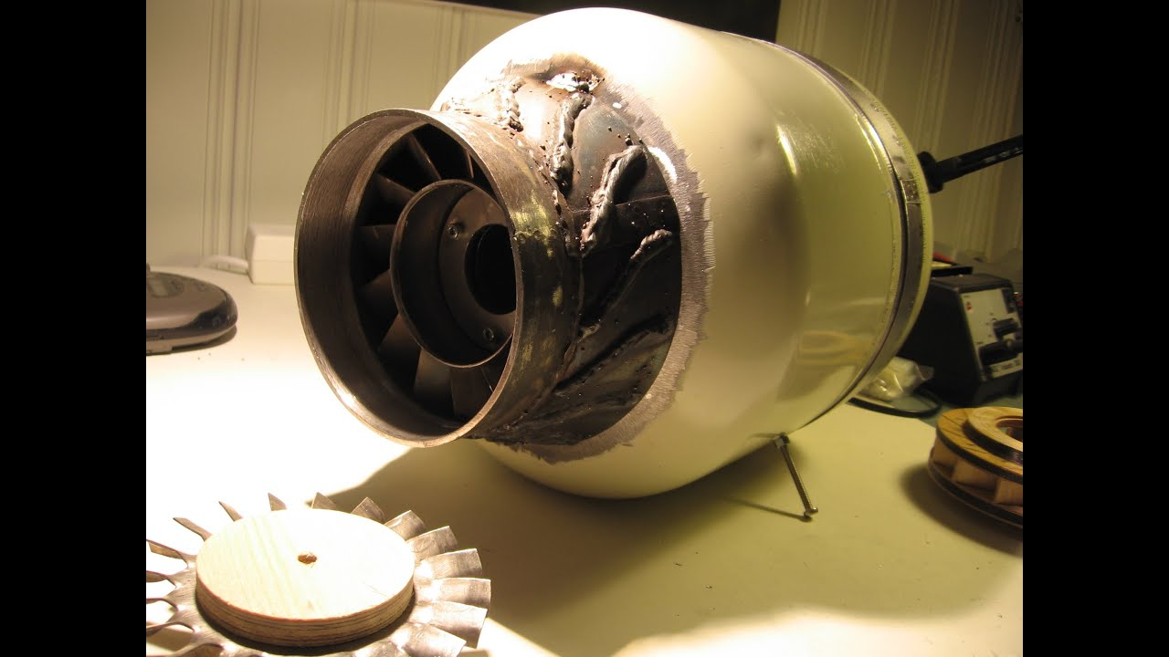 Homemade Jet engine FD3 scale 2 1