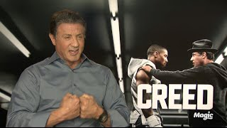 Sylvester Stallone talks Creed and surprising fans on those steps in Philadelphia