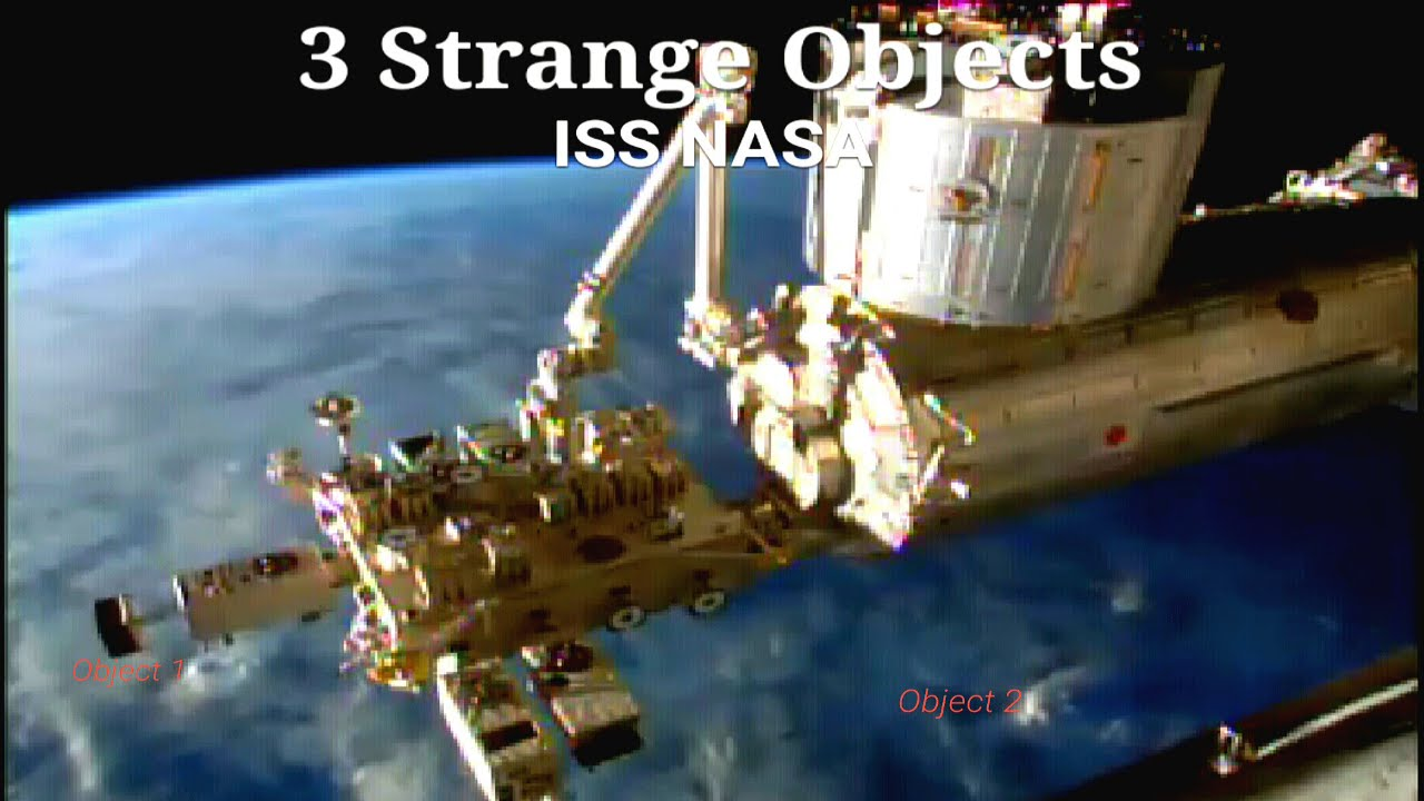 UFO sightings ISS NASA 3 objects close to space station ...