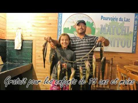 Vidéo Pourvoirie du Lac Matchi-Manitou