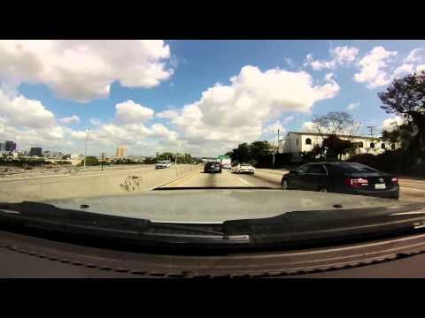 GoPro: (1440p) My Daily Commute. Fountain Valley to Universal City, CA.