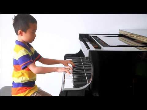 Huang Tiange Plays Bartok Mikrokosmos Vol. 4 No. 118