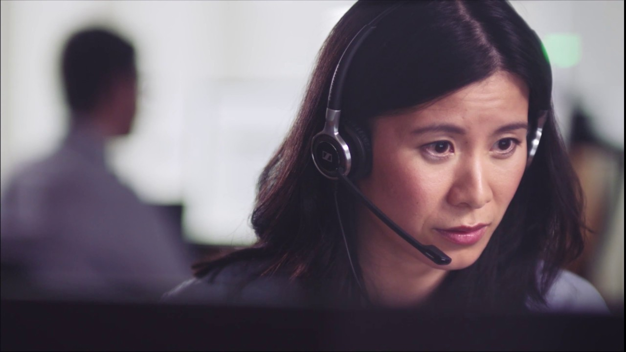 Tai nghe call center sennheiser