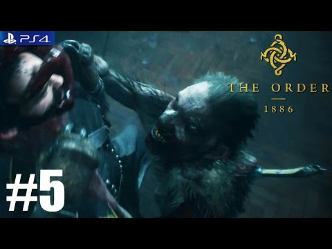 The Order: 1886 - PS4 Walkthrough / Gameplay / 1080p - PART