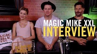 Magic Mike XXL - Interview - Channing Tatum + Joe Manganiello + Amber Heard - Pathé