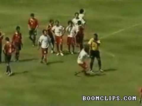 Referee Vs Whole Soccer Team video   Funny videos