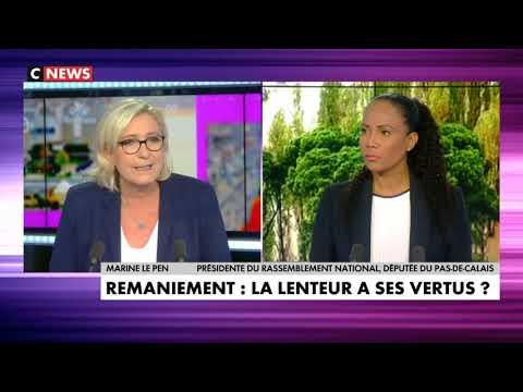 Marine Le Pen l'invitée Politique 15/10