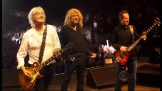 Repeat youtube video Led Zeppelin   Kennedy Center Honors 12 26 12 (Lenny Kravitz & Heart)