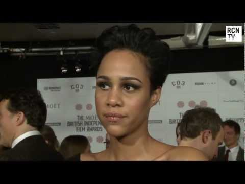 Zawe Ashton Interview British Independent Film Awards 2012
