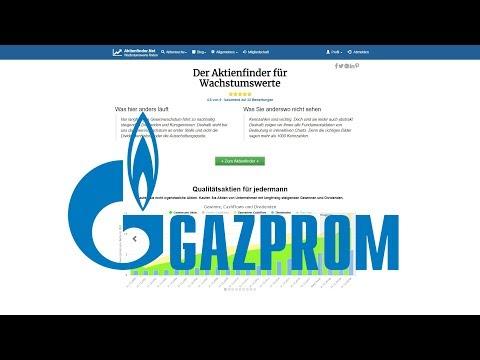 Gazprom Aktie –Dividenden fast geschenkt?
