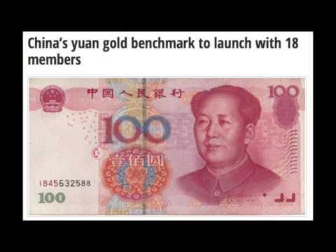 Time To Buy Gold Was Yesterday - Financial Warfare - China Yuan & YOU